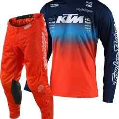 tld-gp-staind-team-ktm-air-completo-combo-estivo-traforato-troy-lee-design-offerta-sconto