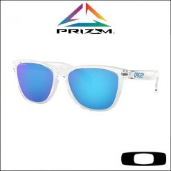 crystal-clear-prizm-sapphire-oakley-frogskins