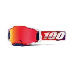 armega-100%-occhiali-mascherina-motocross-enduro-mx-factory-hiper-red
