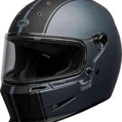 bell-eliminator-helmet-rally-matte-gray-black-casco-integrale-front